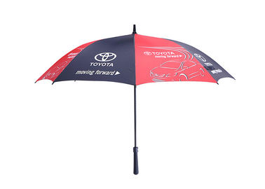 Strong Windproof Portable Rain Umbrella Auto Open With Customized Logo