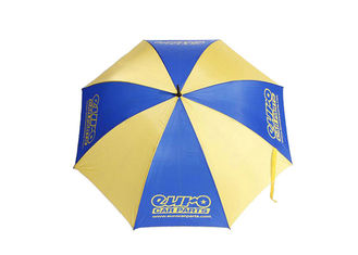 Auto Open Promotional Golf Umbrellas Rain Proof Umbrella Double Layer