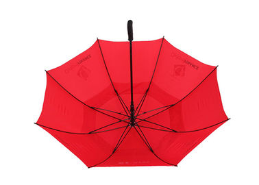 Windproof Advertising Sun Rain Umbrella Auto Open With Logo Printing
