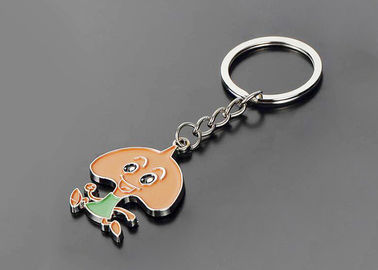 Cute Cartoon Soft Pvc Keychain 3d Car Key Chain For Commercial Advertising