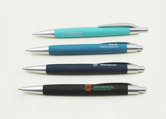 Metal Floating Ball Pen , Logo Engraving Promotional Gifts Pens For Students