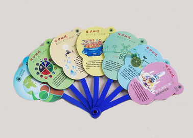 Logo Printing Custom Hand Fans Portable Plastic Pp Personalized Hand Held Fans