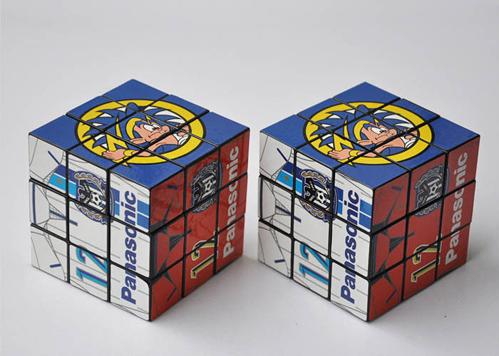 3 Layers Custom Magic Cube Promotional Custom Magic Photo Cube For Adults / Kids