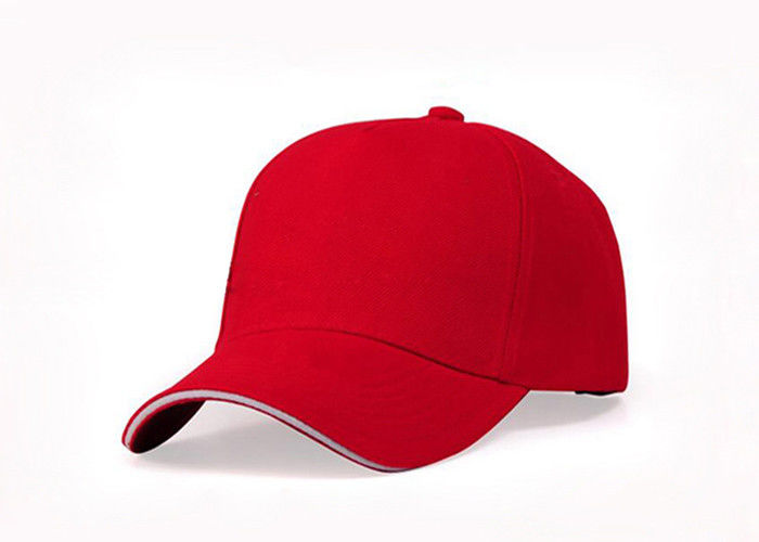 Pure Cotton Fabric Custom Embroidered Baseball Caps With Printing 9d38786834a9
