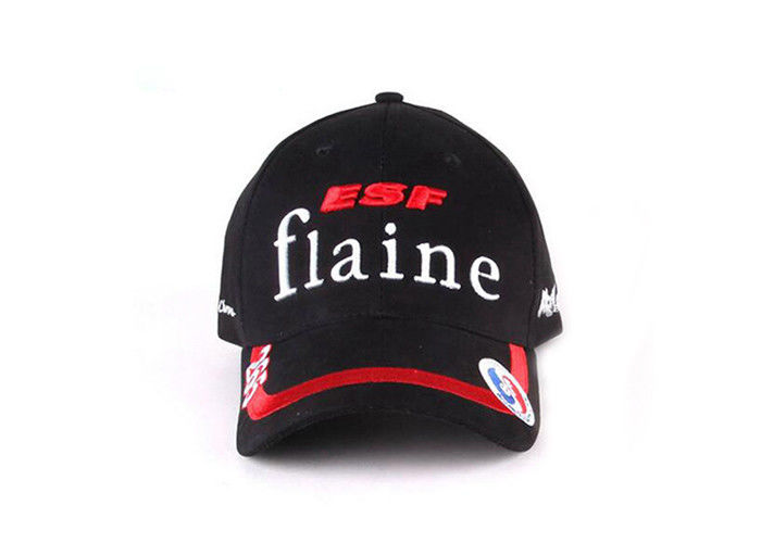 ba1de0e5dbb73 5 Panel Promotional Baseball Caps Embroidery Logo Adjustable Sports Cap For  Gifts