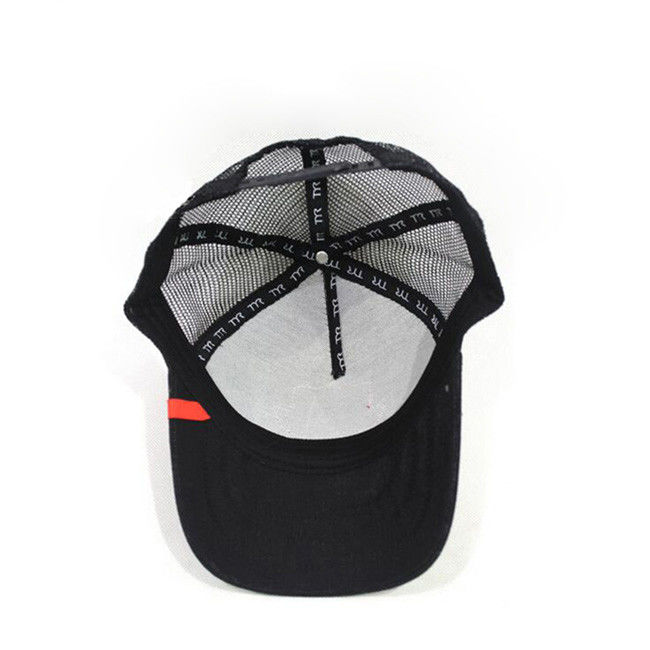 Adjustable 6 Panel Trucker Mesh Cap For Adults / Kids Decoration