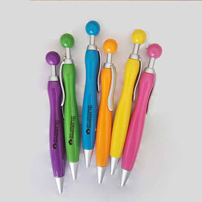 Full Color  Floating Ball Pen Rubber Material For Promotional Gifts